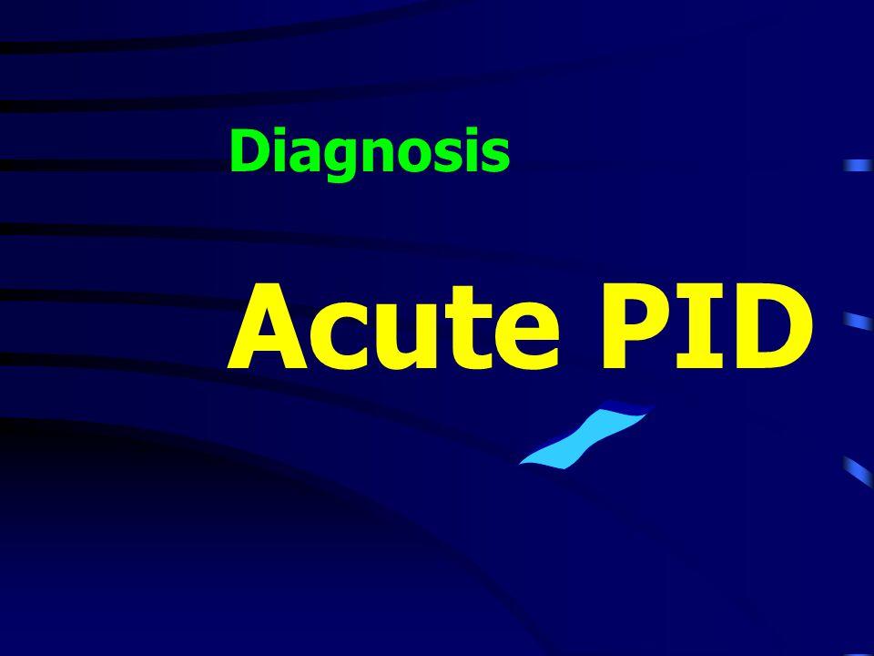 Diagnosis Acute PID /