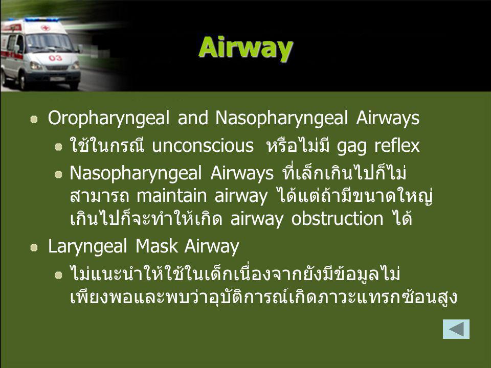 Airway Oropharyngeal and Nasopharyngeal Airways
