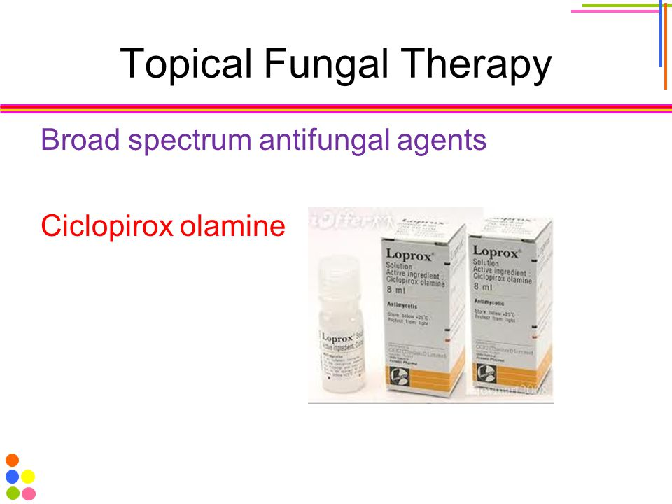 Topical Fungal Therapy