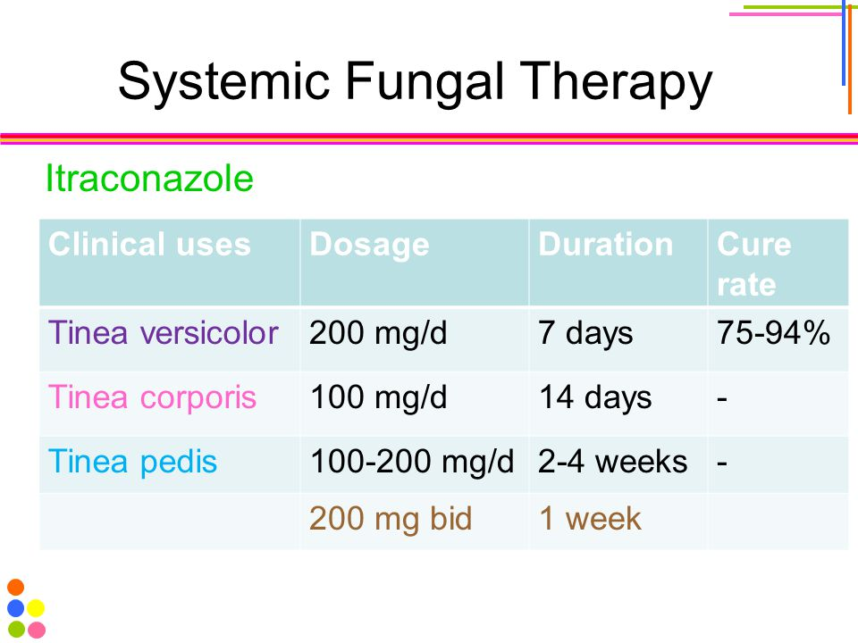 Systemic Fungal Therapy
