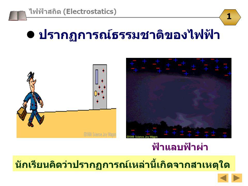  ปรากฏการณ์ธรรมชาติของไฟฟ้า