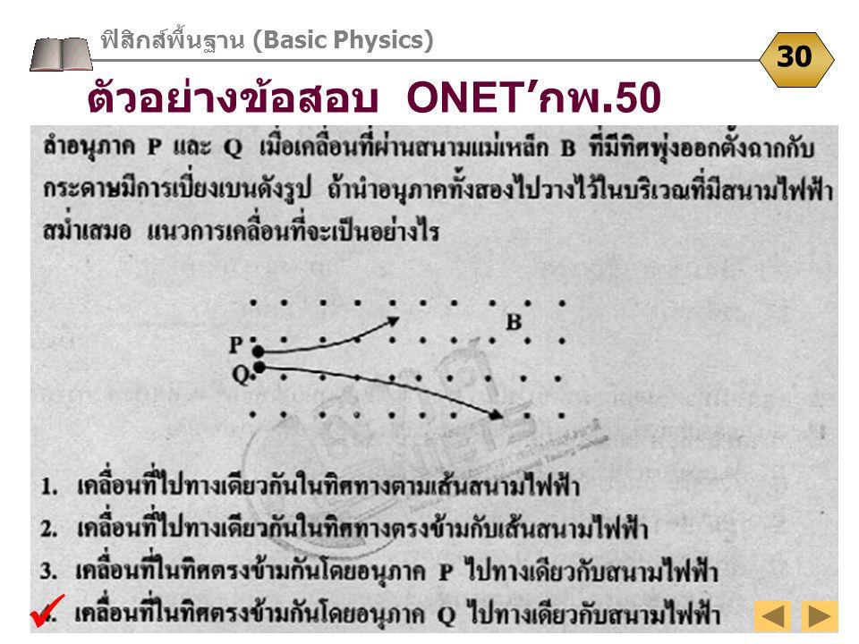 ฟิสิกส์พื้นฐาน (Basic Physics)