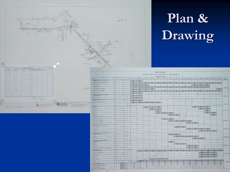 Plan & Drawing