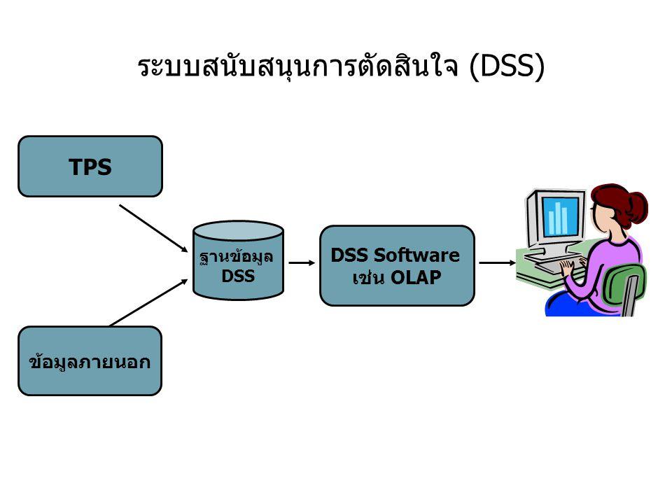 ระบบสนับสนุนการตัดสินใจ (DSS)