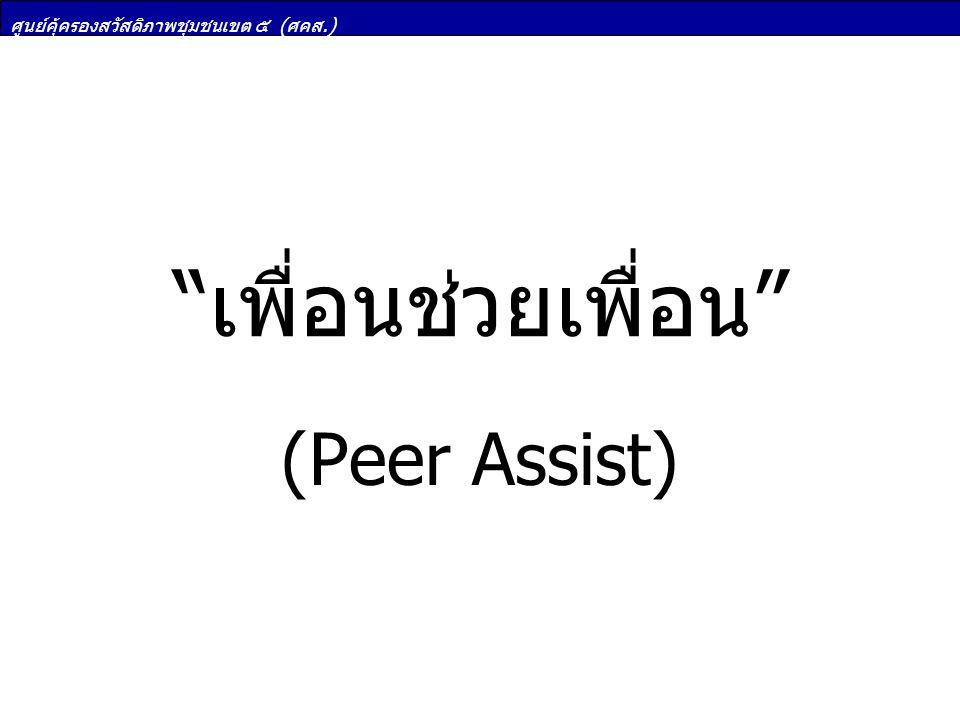 เพื่อนช่วยเพื่อน (Peer Assist)