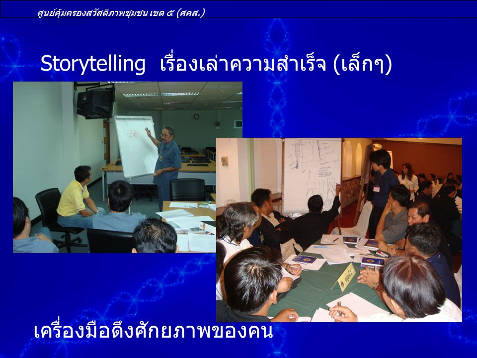 Storytelling เรื่องเล่าความสำเร็จ (เล็กๆ)