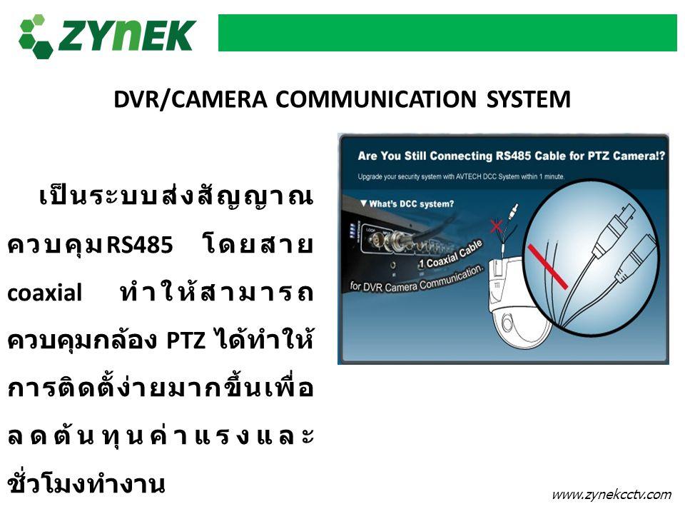 DVR/CAMERA COMMUNICATION SYSTEM