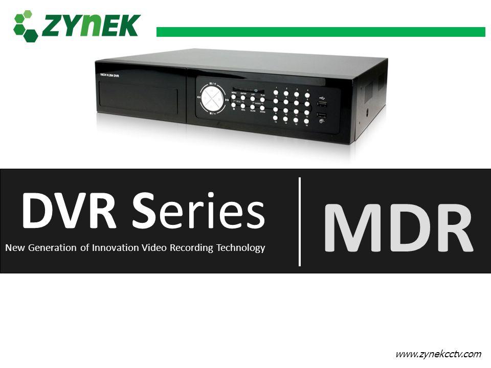 MDR MDR DVR Series DVR Series