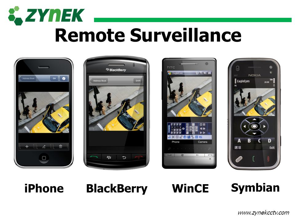 Remote Surveillance BlackBerry Symbian iPhone WinCE