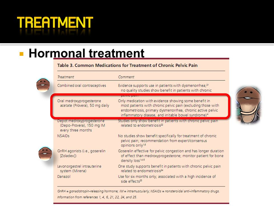 Hormonal treatment