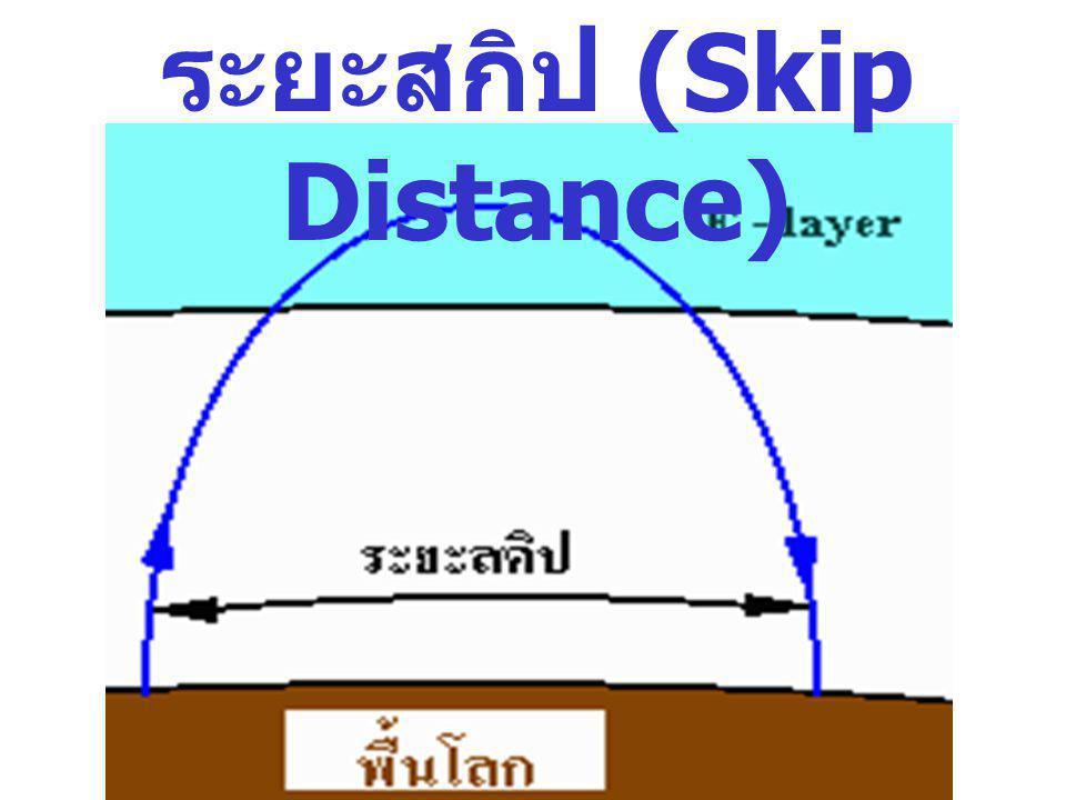 ระยะสกิป (Skip Distance)