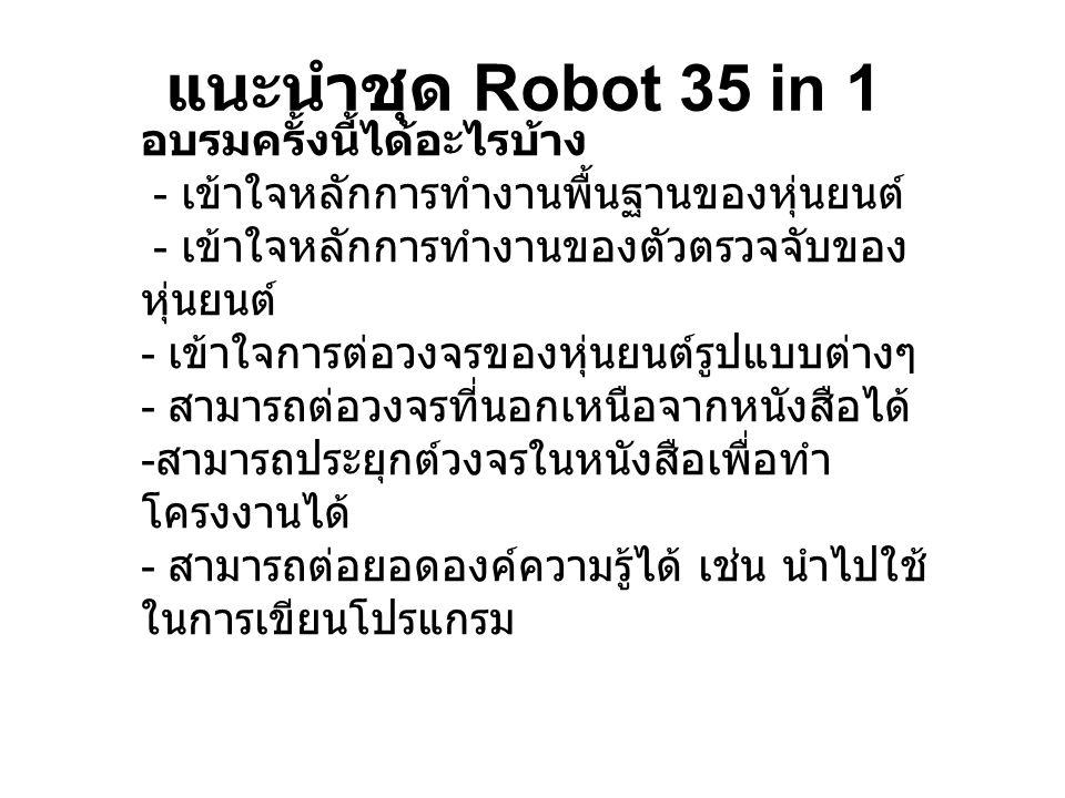 แนะนำชุด Robot 35 in 1