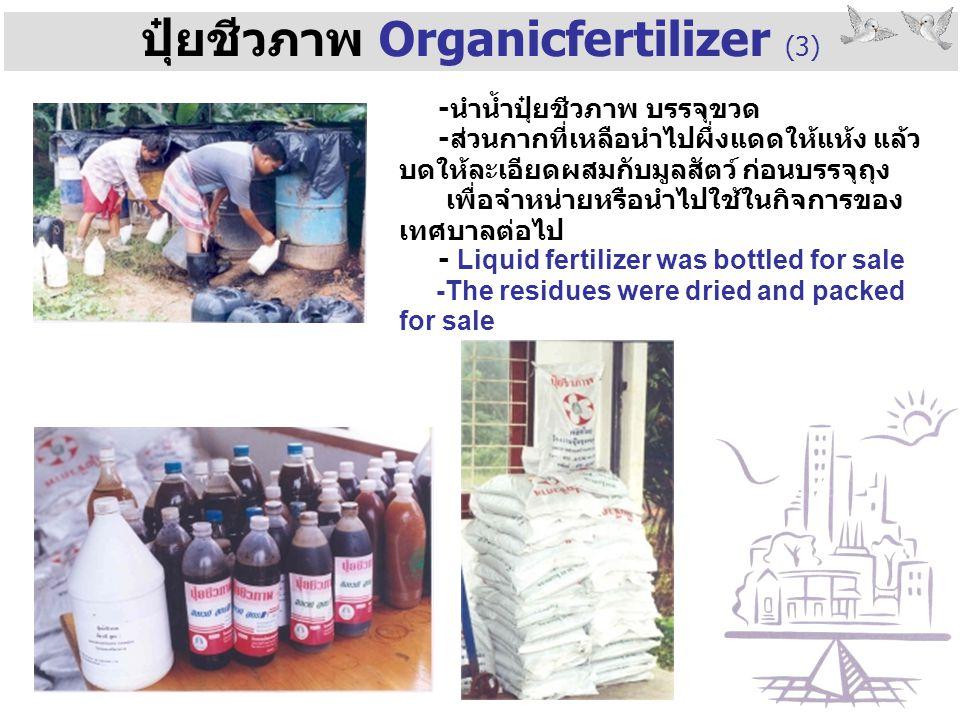 ปุ๋ยชีวภาพ Organicfertilizer (3)