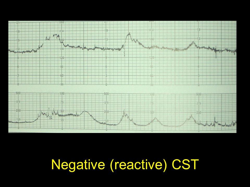 Negative (reactive) CST