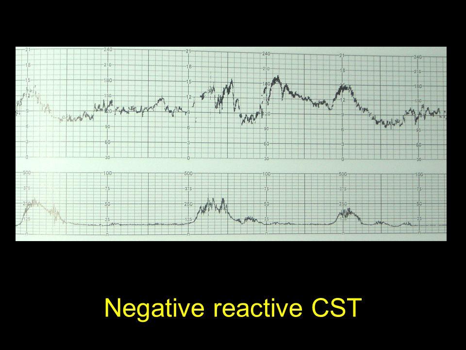 Negative reactive CST