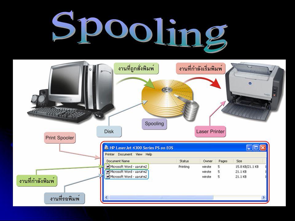 Spooling