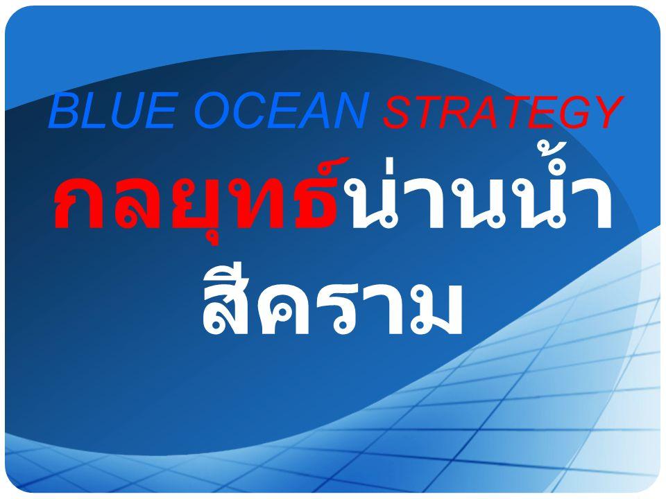 BLUE OCEAN STRATEGY กลยุทธ์น่านน้ำสีคราม