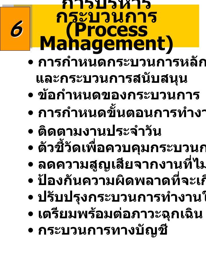 การบริหารกระบวนการ (Process Management)