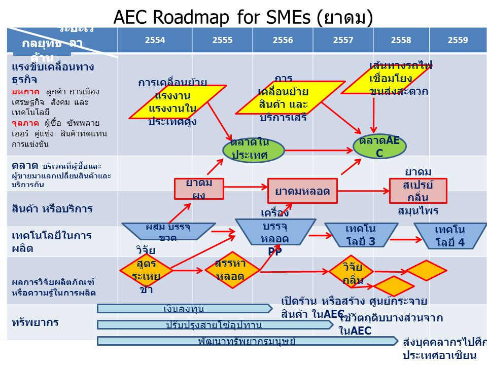 AEC Roadmap for SMEs (ยาดม)