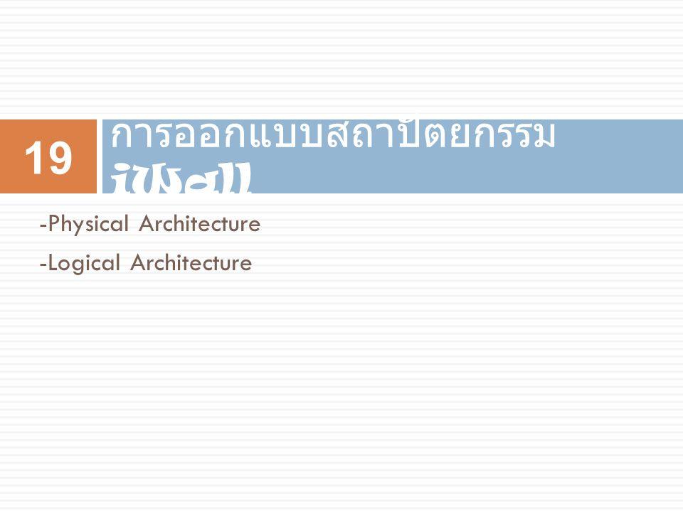 การออกแบบสถาปัตยกรรม iWall