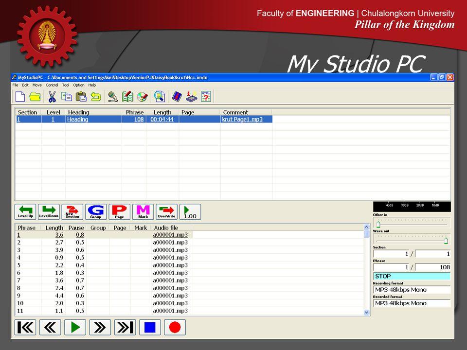 My Studio PC