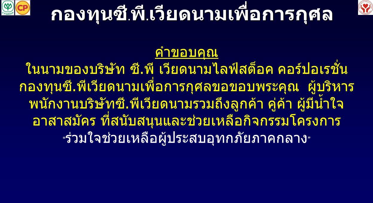 กองทุนซี.พี.เวียดนามเพื่อการกุศล