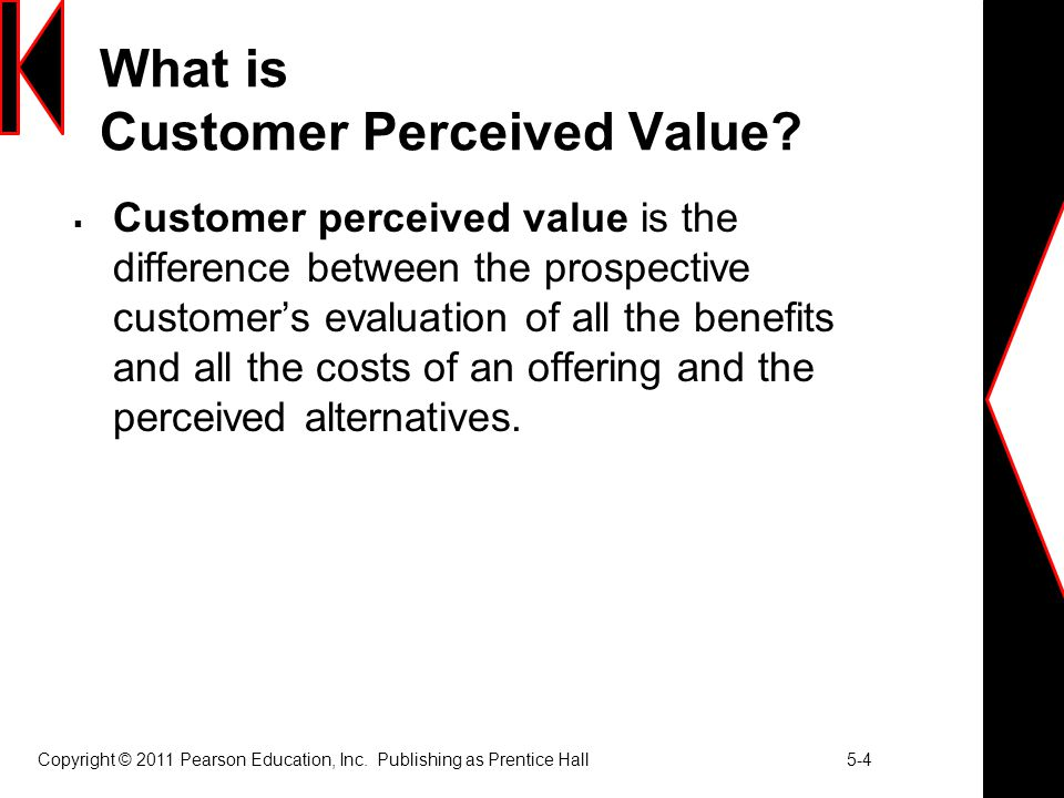 What is Customer Perceived Value