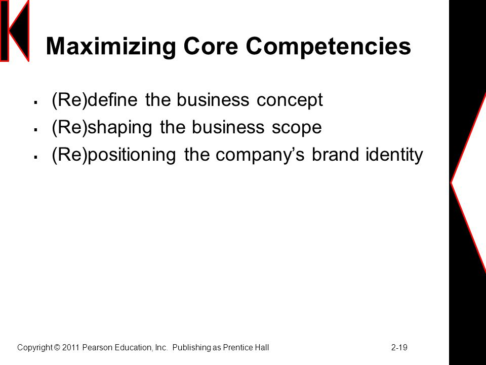 Maximizing Core Competencies