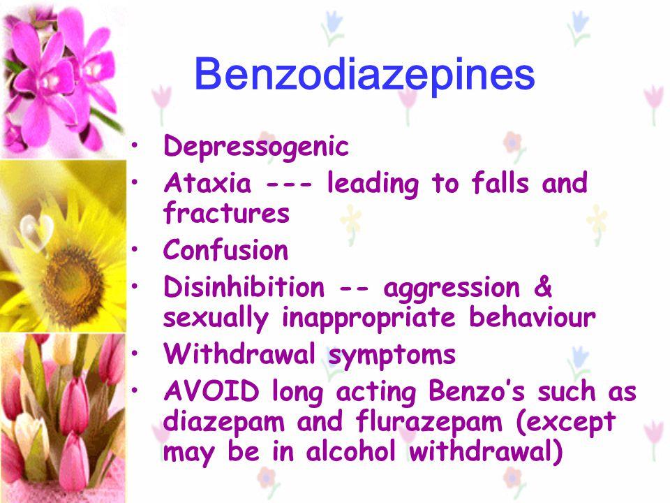 Benzodiazepines Depressogenic