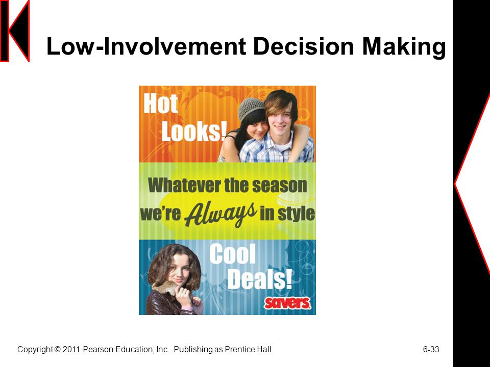 Low-Involvement Decision Making