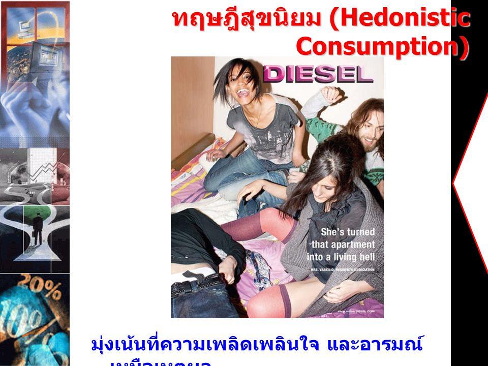 ทฤษฎีสุขนิยม (Hedonistic Consumption)
