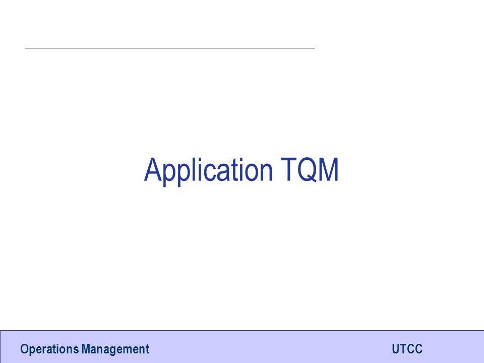 Application TQM