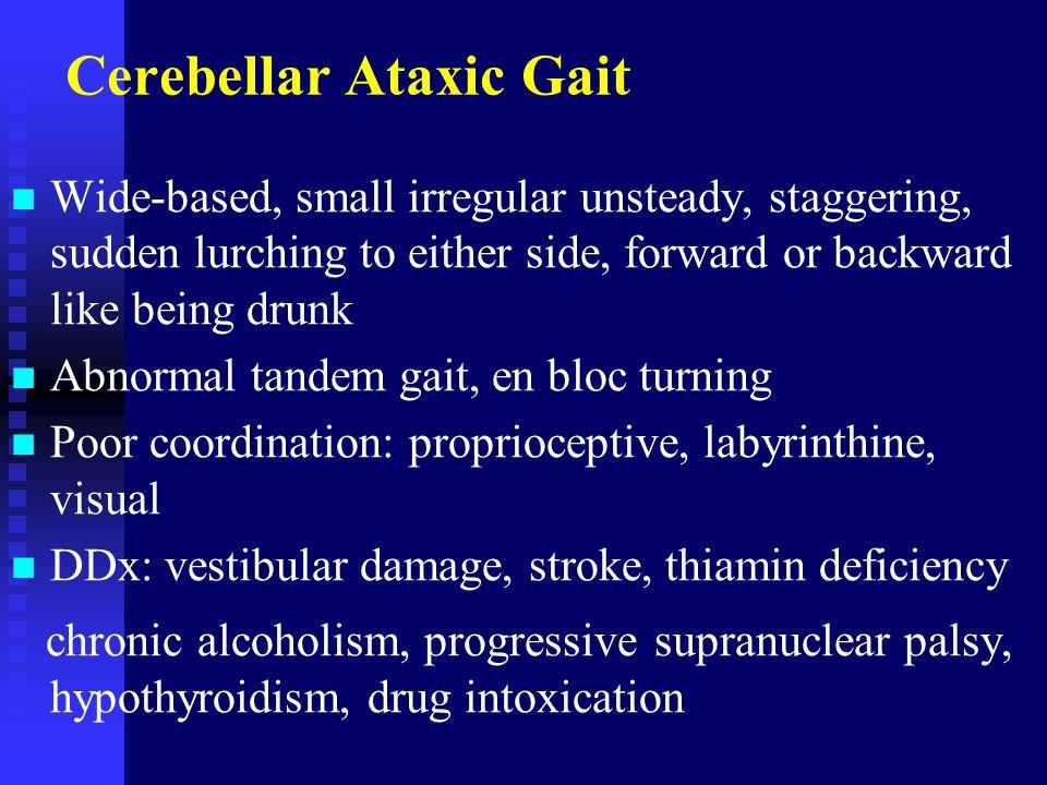Cerebellar Ataxic Gait