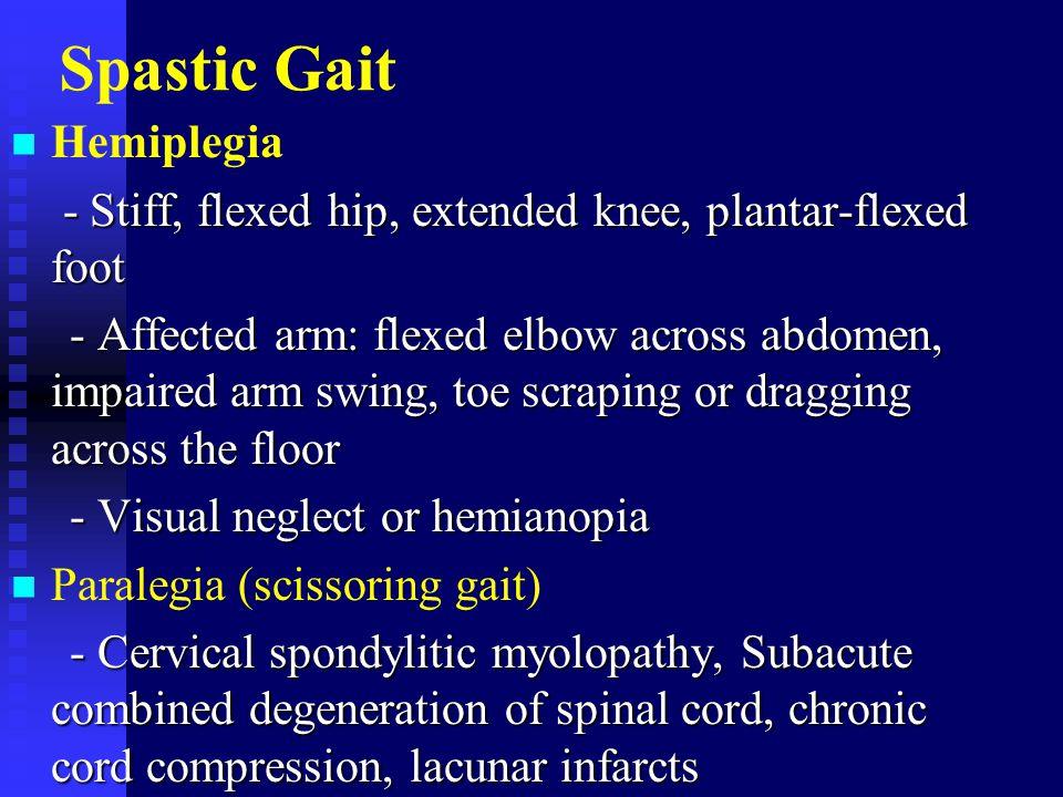 Spastic Gait Hemiplegia