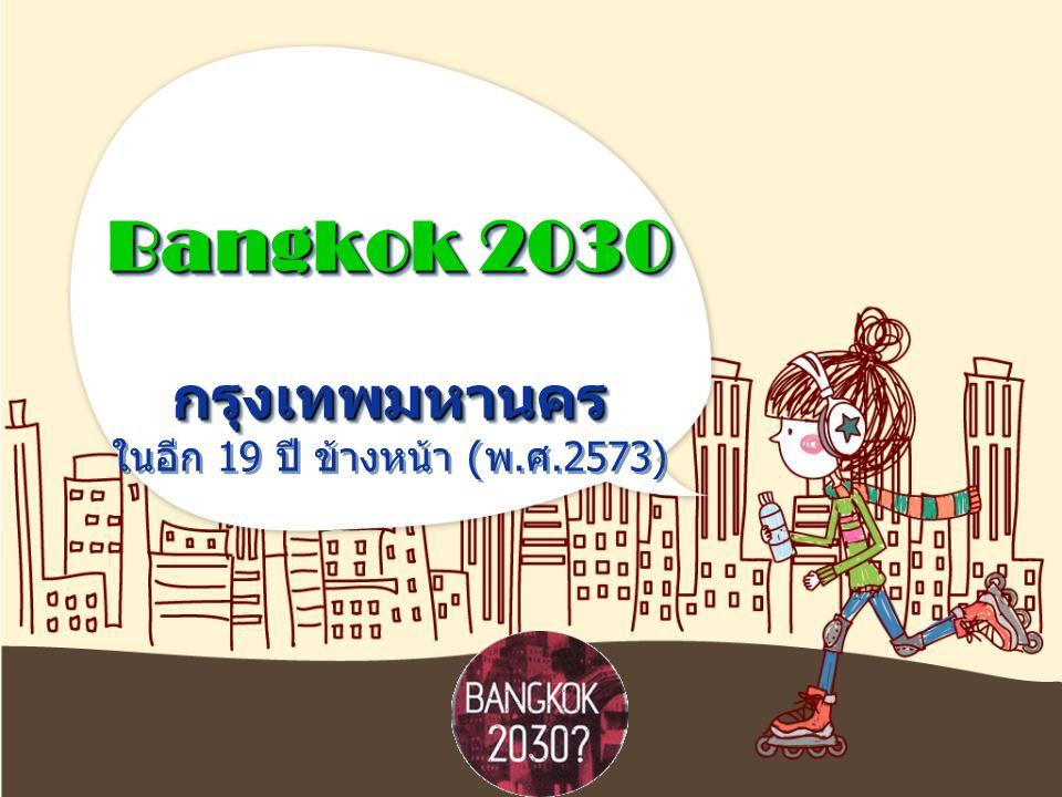 Bangkok 2030 กรุงเทพมหานคร ในอีก 19 ปี ข้างหน้า (พ.ศ.2573)