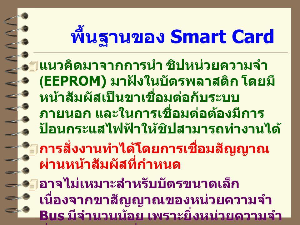 พื้นฐานของ Smart Card