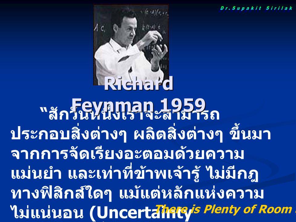 Dr.Supakit Sirilak Richard Feynman 1959.