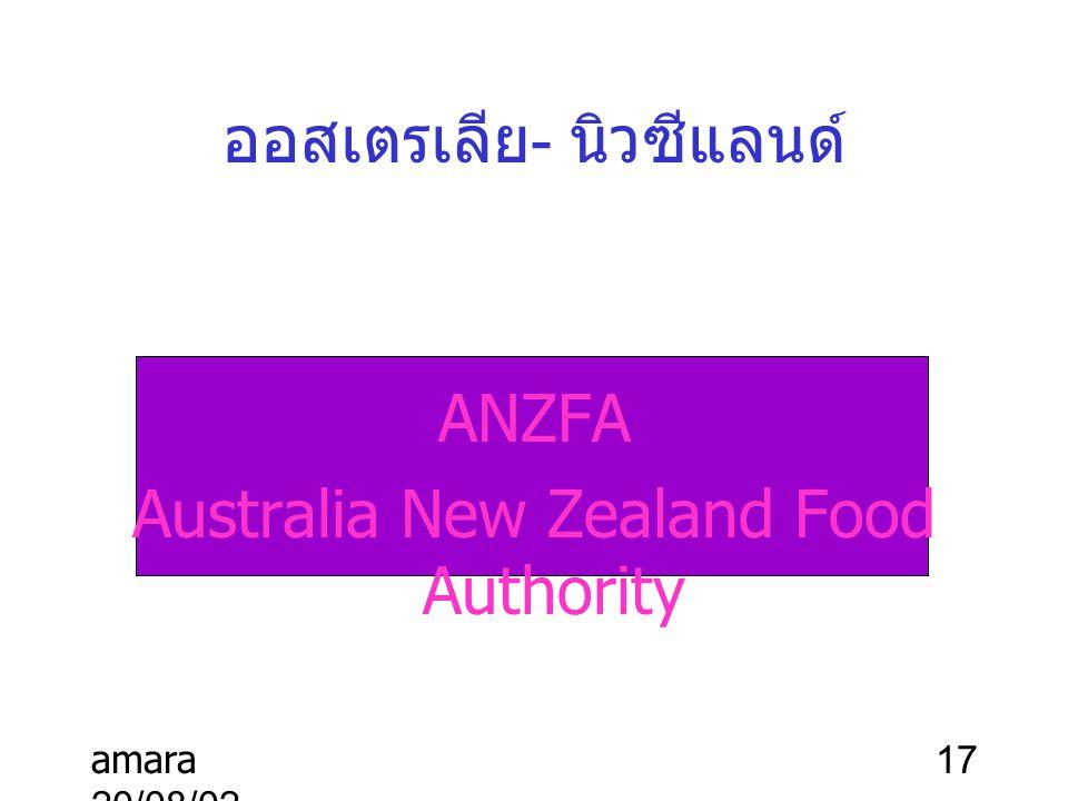 ออสเตรเลีย- นิวซีแลนด์