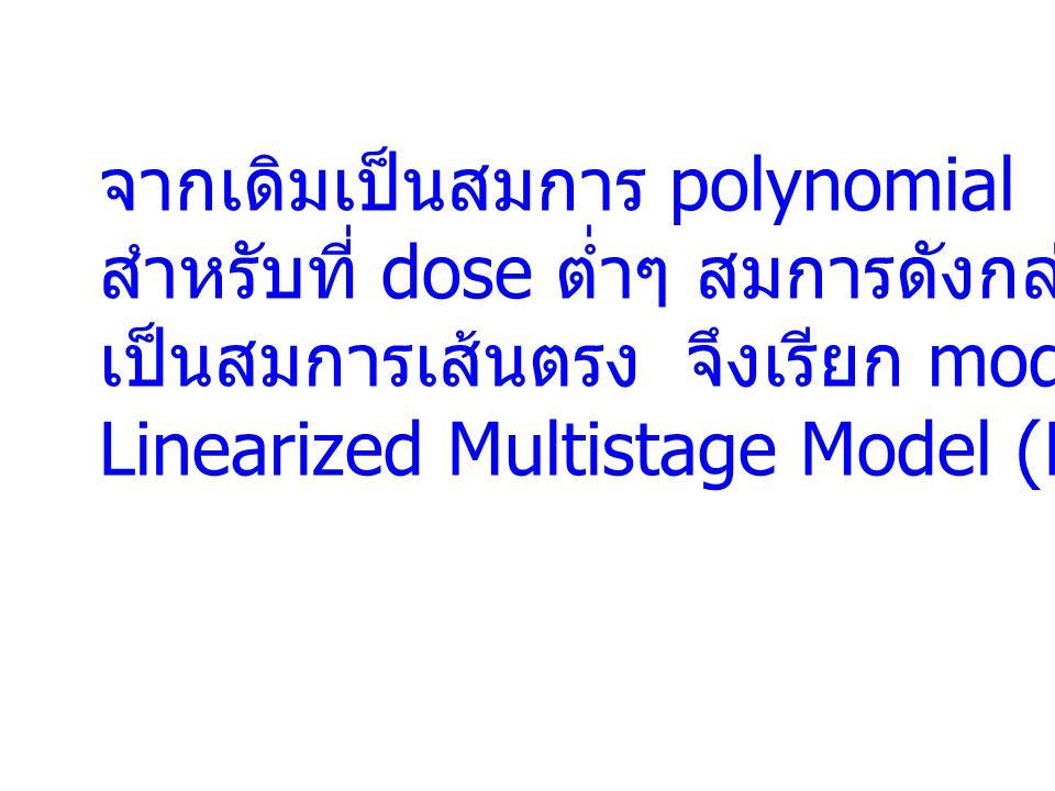 จากเดิมเป็นสมการ polynomial