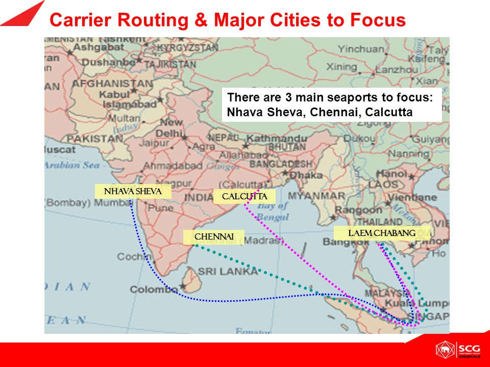 Carrier Routing & Major Cities to Focus