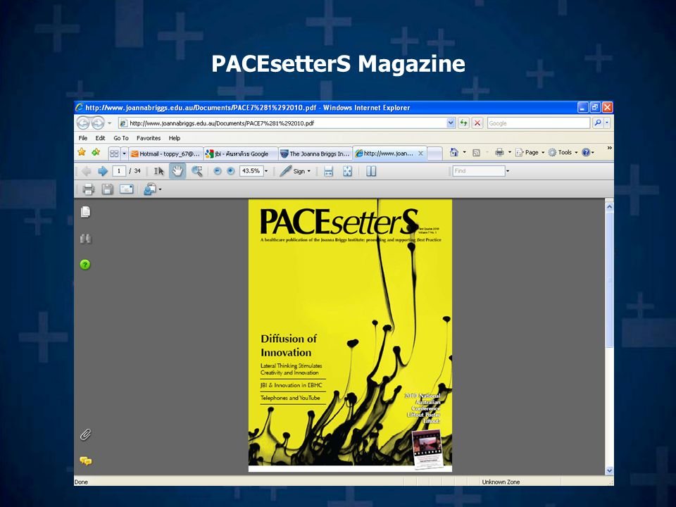 PACEsetterS Magazine
