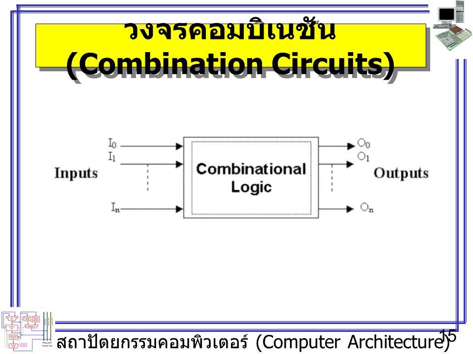 วงจรคอมบิเนชัน (Combination Circuits)