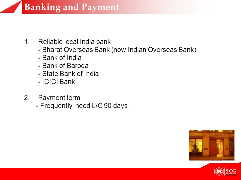 Banking and Payment Reliable local India bank