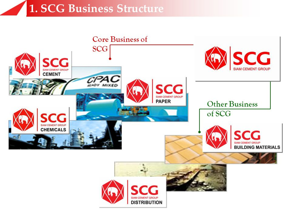 1. SCG Business Structure