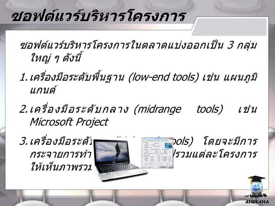 ซอฟต์แวร์บริหารโครงการ