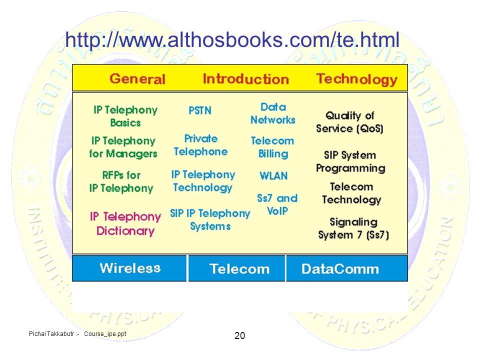 http://www.althosbooks.com/te.html 20