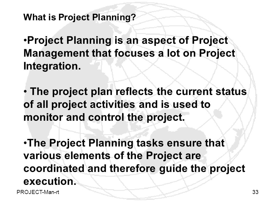 What is Project Planning