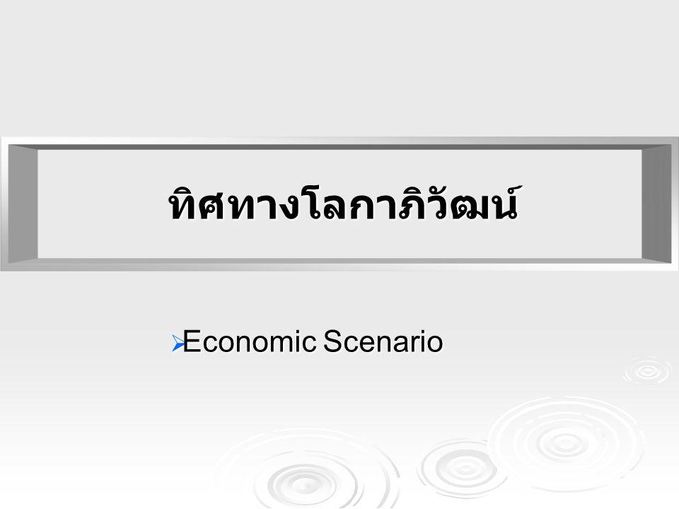ทิศทางโลกาภิวัฒน์ Economic Scenario