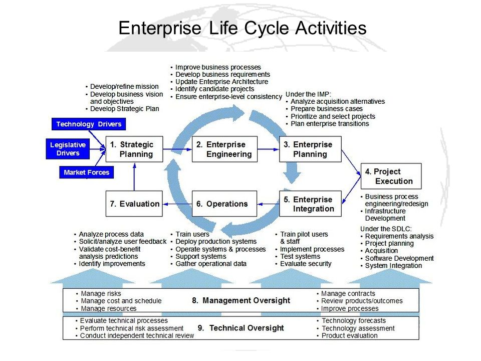 Enterprise Life Cycle Activities