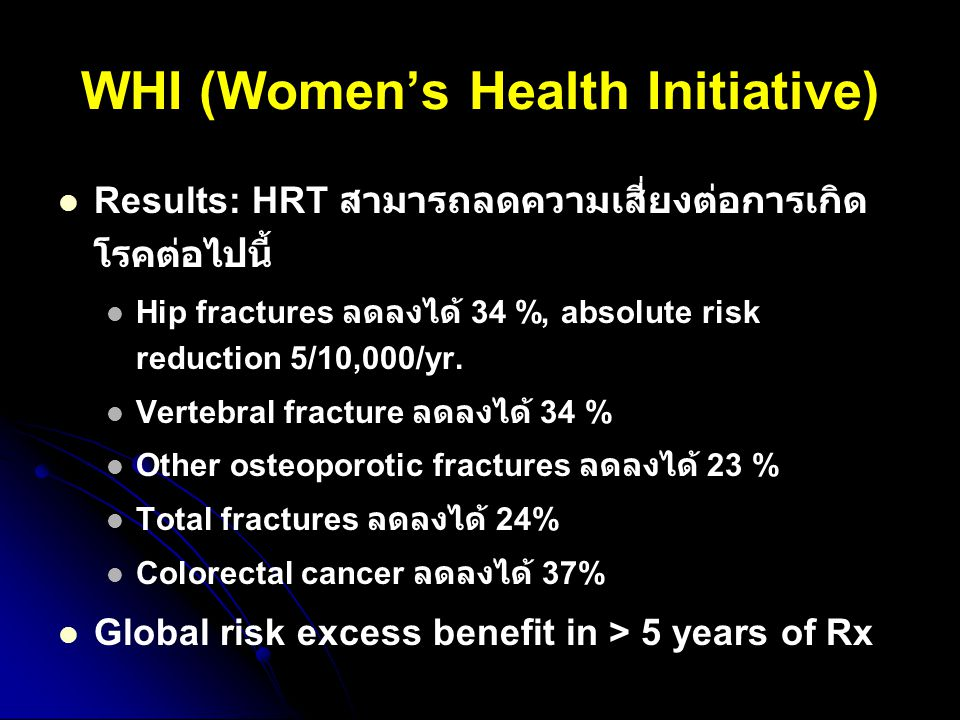 WHI (Women's Health Initiative)